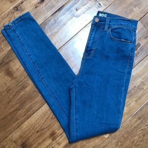 BDG Super High Rise Twig Ankle jeans